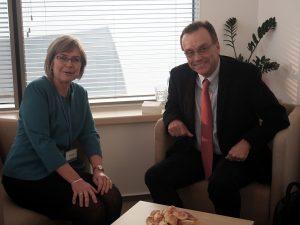Prof. Jolanta Zujecka-Zając, Andrew Nagorski