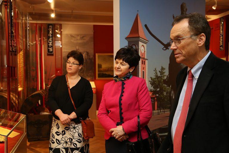 Andrew Nagorski visited Warka and Bończa