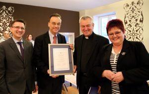 Grzegorz Jędrys, Andrew Nagorski, father Andrzej Tuszyński, Ewa Kamińska