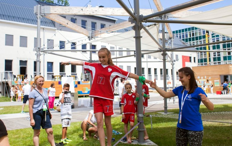Schools with Class met at the Festival in Warsaw
