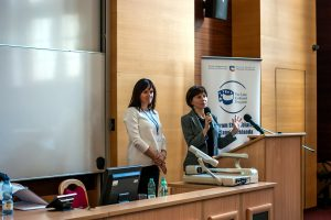 Agnieszka Mazur, Urszula Sobiecka, inauguration of the XVI edition of the Lane Kirkland Scholarship Program