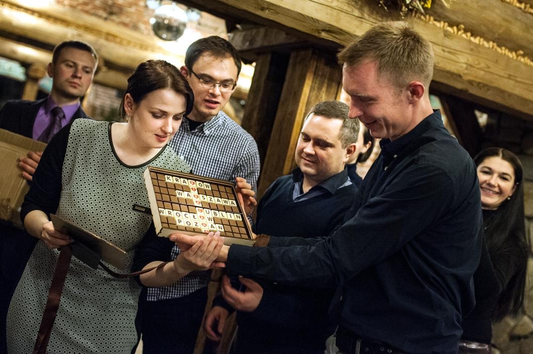 Meeting of this year's Kirkland Scholarship holders in Kraków
