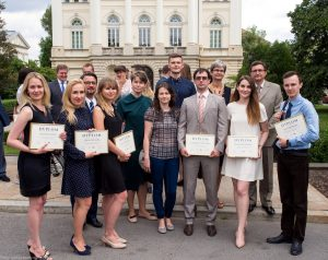 This year's Kirklanders received their diplomas