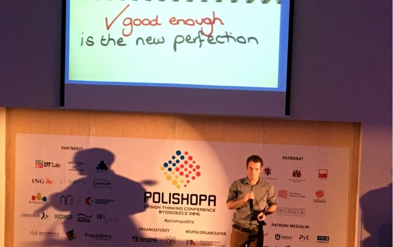 """""""PAFF Local Partnerships"""" and """"PAFF Leaders"""" acted as Partners at the POLISHOPA Design Thinking Conference"""
