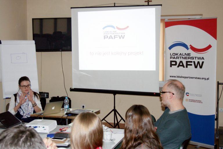 """PAFF Local Partnerships"" workshops in Warka"