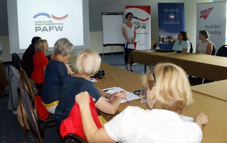 """PAFF Local Partnerships"" regional workshops"