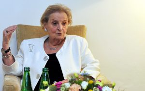 Madeleine Albright was the guest at the fourth edition of WEASA