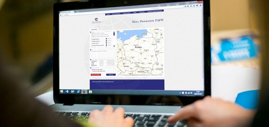 PAFF Programs' Map