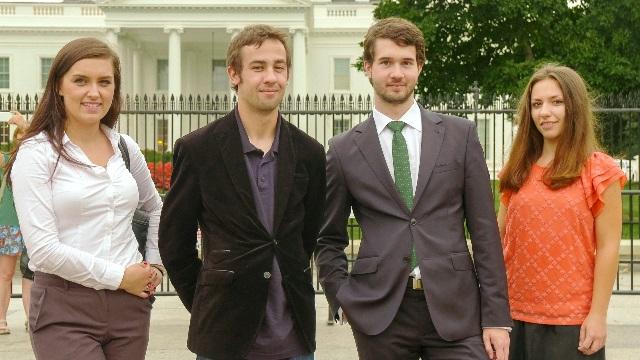 PAII interns visited Washington
