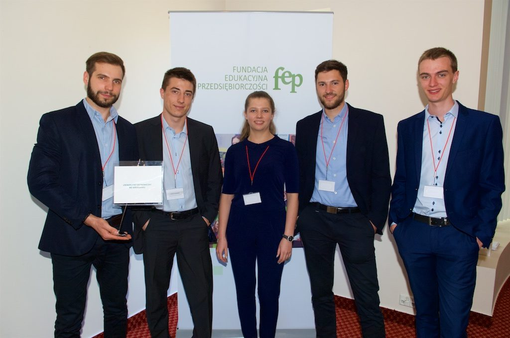 Students from Wrocław best in management