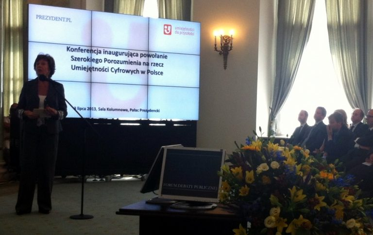 Inauguration of the Broad Agreement on Digital Skills in Poland