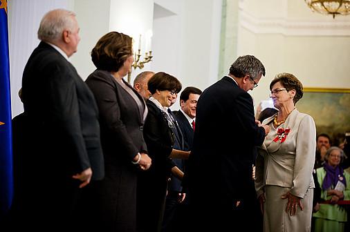 PAFF Leaders among women awarded by President Komorowski