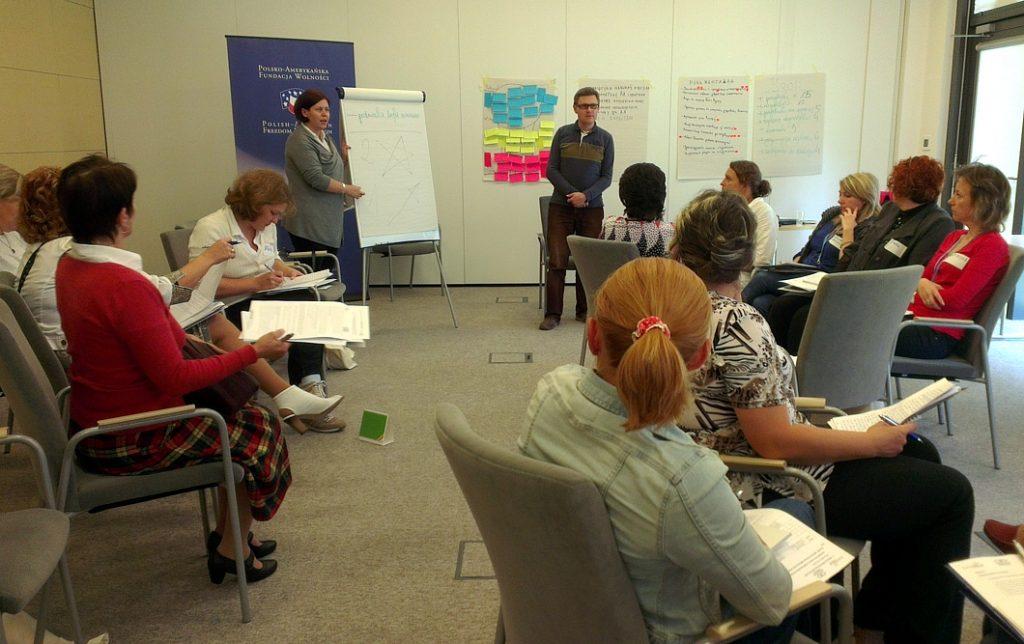 """""""LES"""" workshops for teachers from Belarus"""