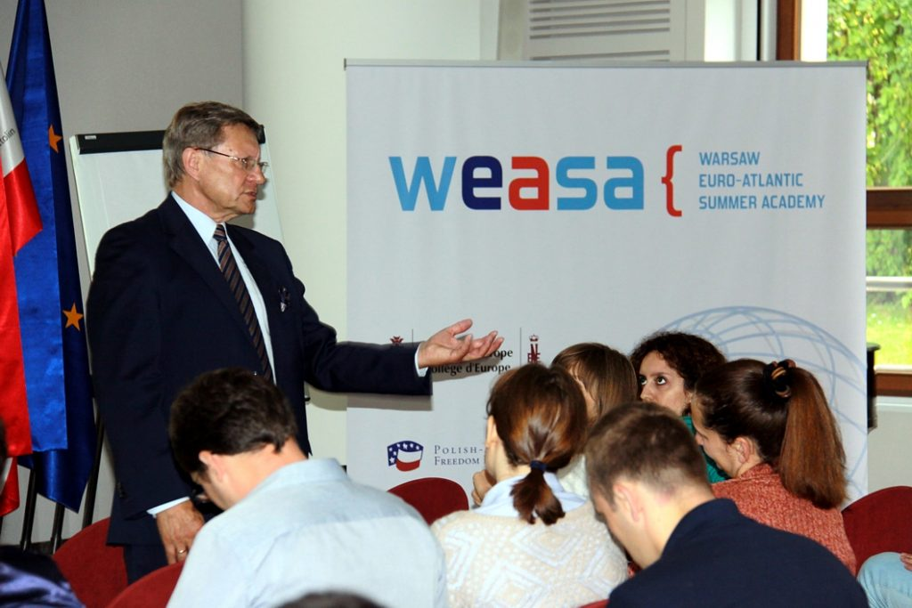 The Warsaw Euro-Atlantic Summer Academy (WEASA) for the second time