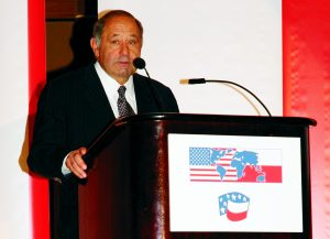 Robert G. Faris, President and CEO of the Polish-American Enterprise Fund