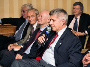 Nicholas A. Rey, Aleksander Koj, Michał Boni, Marek Belka and Frederick M. Bohen