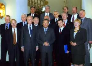 The Foundation's Members of the Board are received by President Aleksander Kwaśniewski.