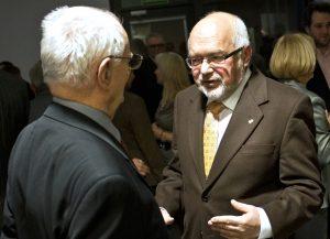 Prof. Jerzy Dietl, Rector Krzysztof Pawłowski