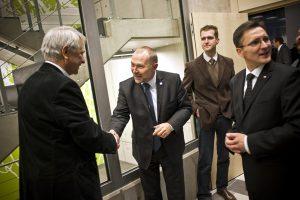 Minister Jacek Michałowski, Tomasz Lechowski, Grzegorz Jędrys, Rafał Kramza