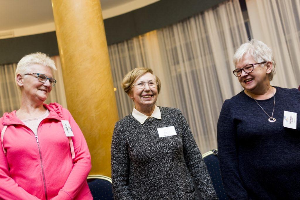 Seniors for local communities