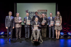 "The winners of the ""Civic Leader of the Year 2015"" competition"