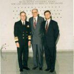 Minister of Foreign Affairs Władysław Bartoszewski, Ambassador Jerzy Koźmiński – CIA, Langley, 1995