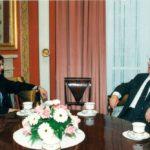 President Lech Wałęsa, Ambassador Jerzy Koźmiński – Belweder, Warsaw, 1994