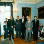 Colonel Ryszard Kukliński, Ambassador Jerzy Koźmiński – Embassy of the Republic of Poland in Washington, 1998