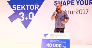Sector 3.0 Award. PLN 40,000 for the winner!