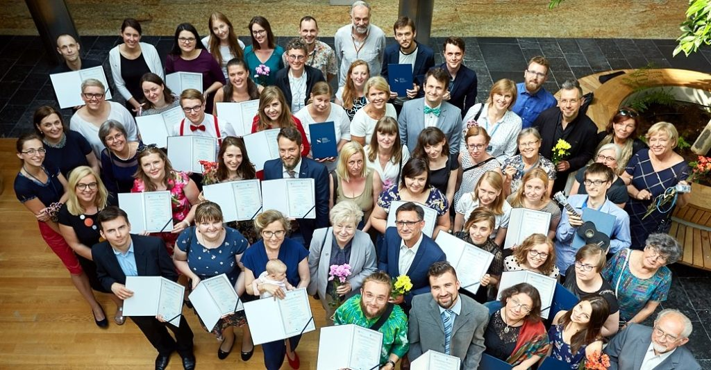 Second year of students graduated from the School of Education