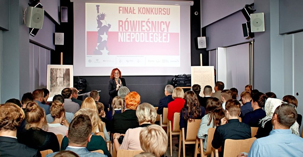 "The finals of the ""Contemporaries of Independent Poland"" competition"