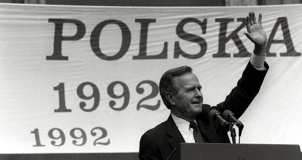 President George Bush, 1924-2018