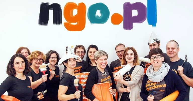 New image of ngo.pl portal