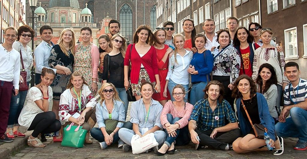"""Study Tours to Poland"" – visits by students in spring"