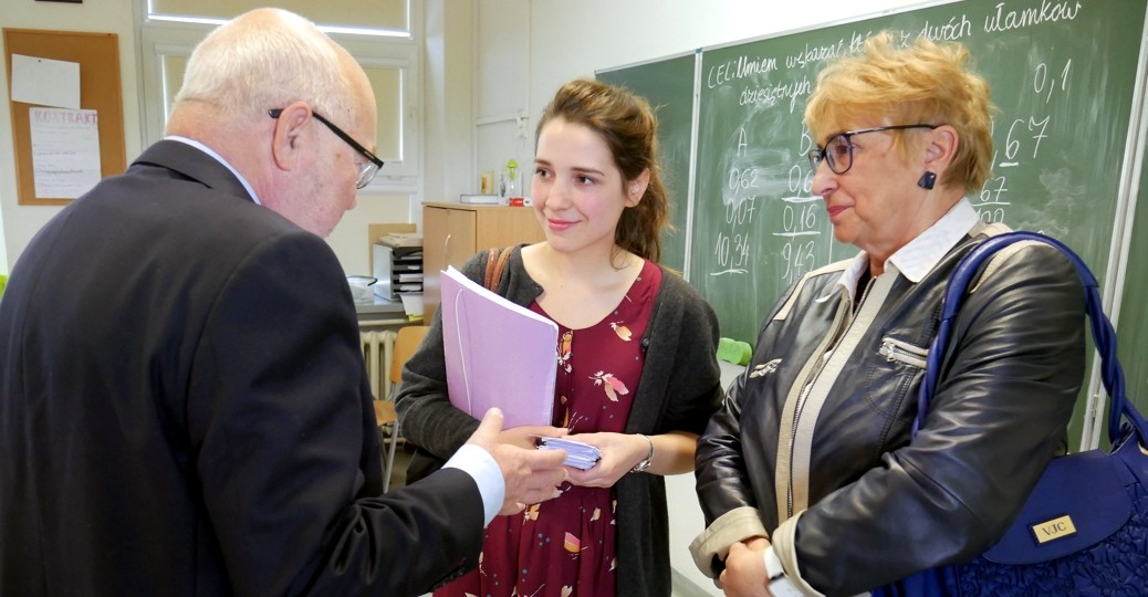 Members of the Board of Directors visited the School of Education