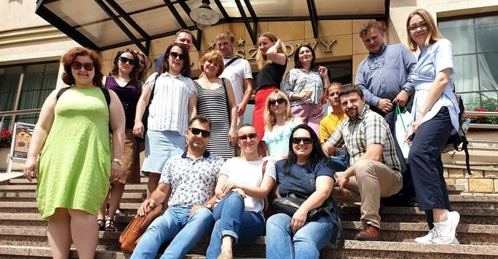 Study tour by Ukrainian NGOs