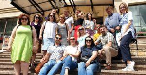 Study tour by Ukrainian NGOs