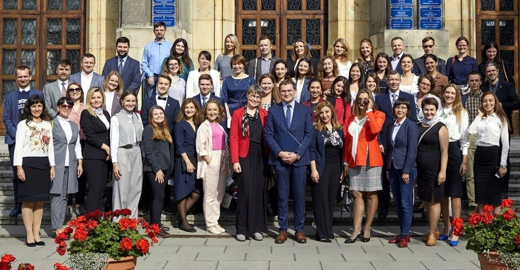 This-year's Kirklanders have started their studies in Poland